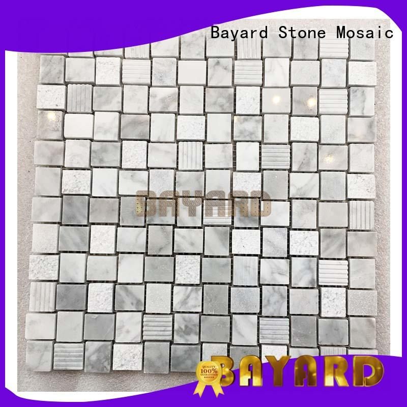 high quality stone mosaic marquina newly for decoration