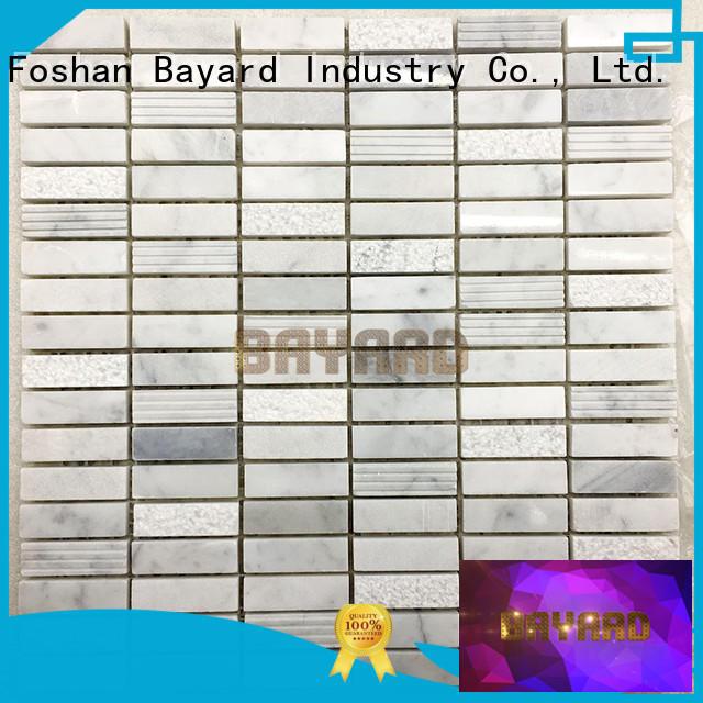 high quality mosaic tile backsplash emperador for hotel