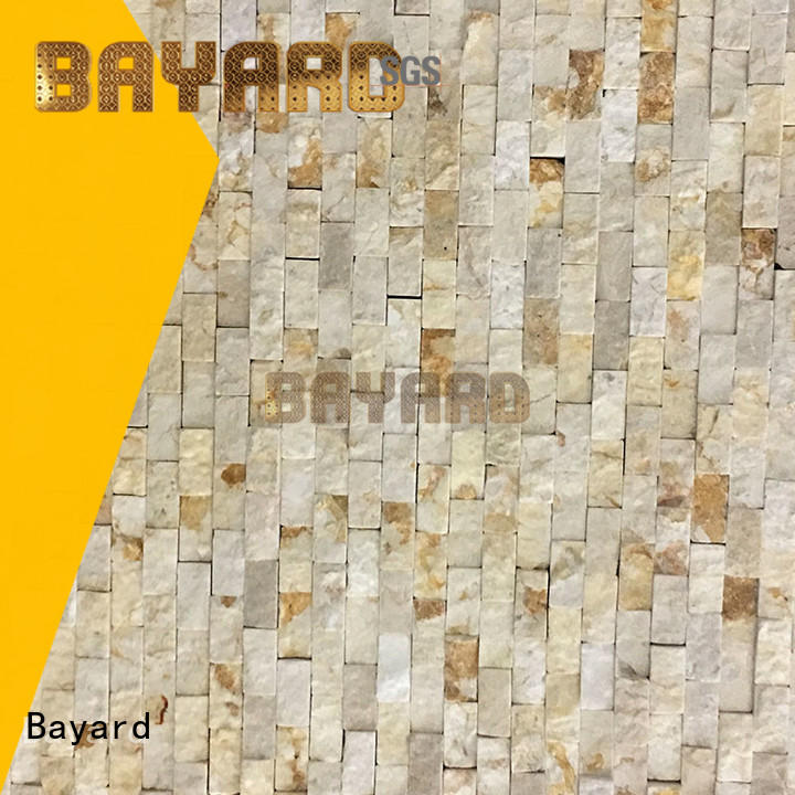 Bayard fashion design marble and glass mosaic tile from china