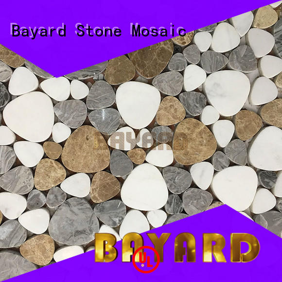 Bayard widely used stone mosaic wall tiles umbrellatypeshelltype