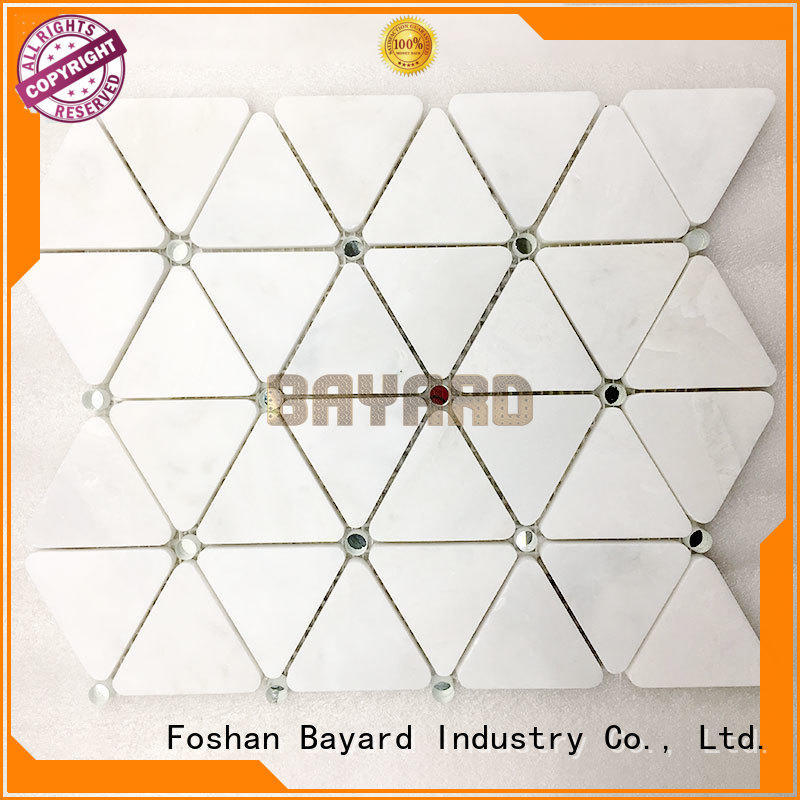 Bayard cool glass mosaic wall tiles shop now for hotel lobby