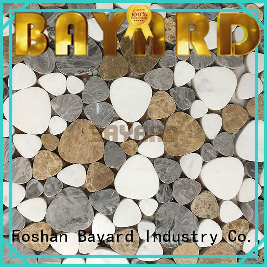 Bayard professional round mosaic tiles for wall decoration