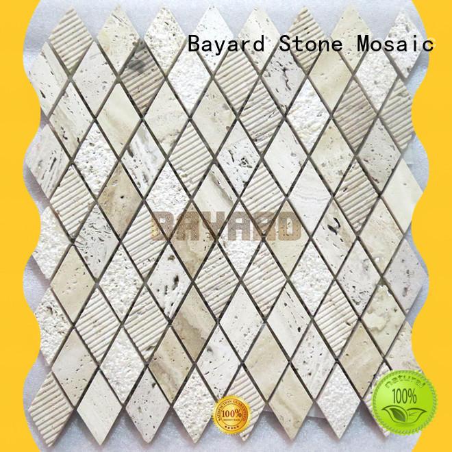 Bayard special travertine mosaic wall tile for bathroom