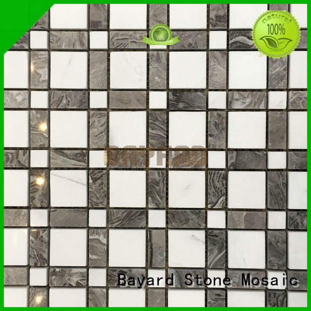 decorative mosaic tiles stone in different shapes for foundation