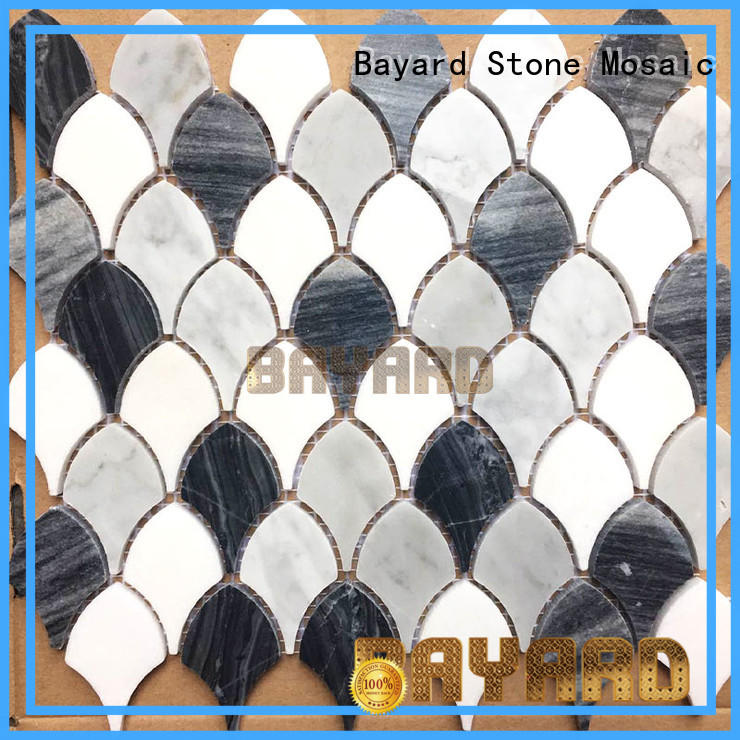 widely used grey mosaic floor tiles marble newly for foundation