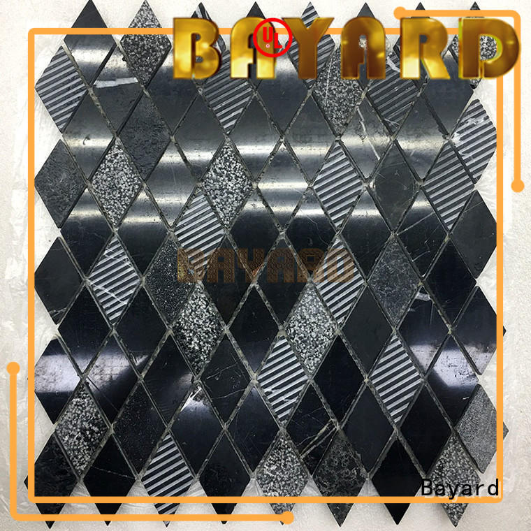 gray marble mosaic tile mosaic for swimming pool Bayard