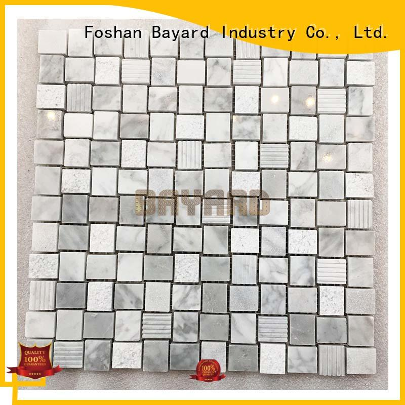 Bayard mosaic wall for bathroom