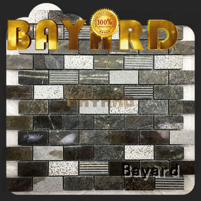Bayard mosaic mosaic bathroom floor tile vendor for supermarket