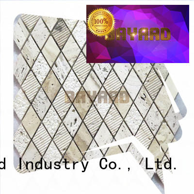 special glass mosaic floor tile brick factory for foundation