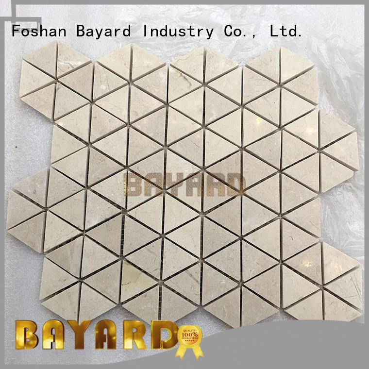 Bayard mosaic marble mosaics for supermarket