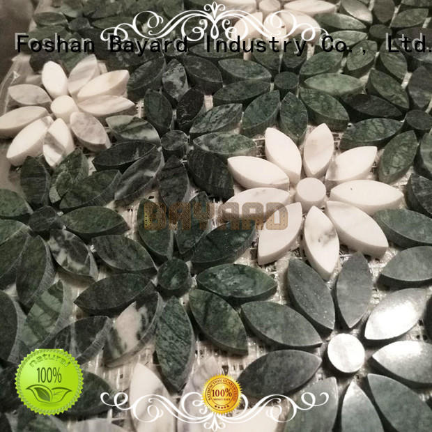 marble 2x2 mosaic tile factory for wall decoration