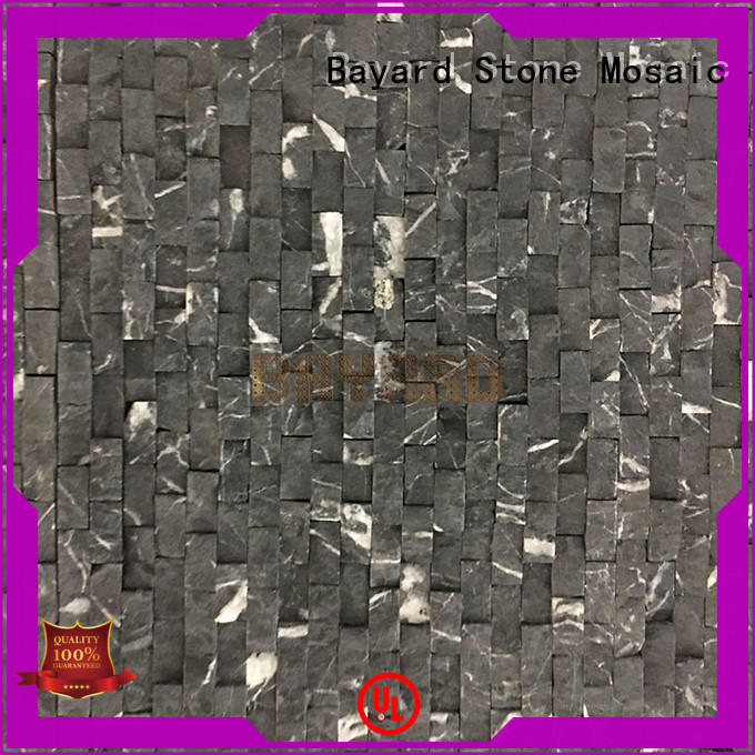 Bayard fashion design gray mosaic floor tile vendor for foundation