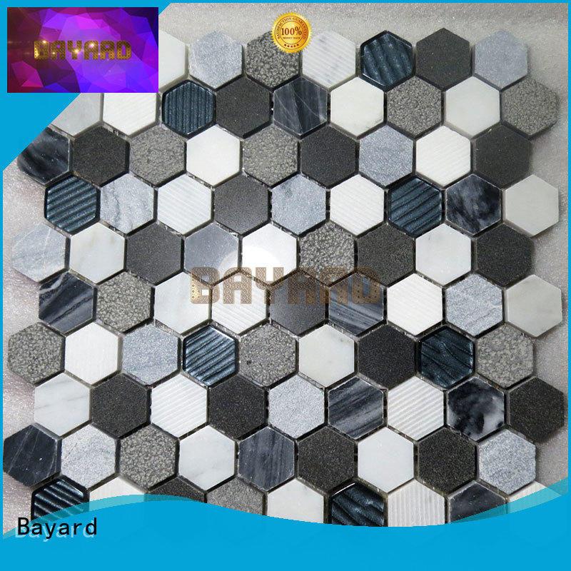 high standards stone mosaic marfil for bathroom