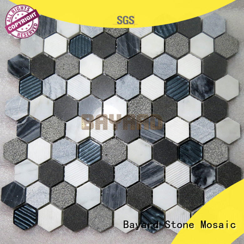 Bayard hot-sale stone mosaic for supermarket