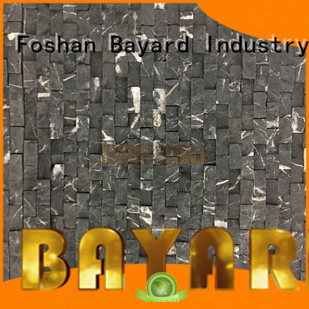 Bayard noble brown mosaic tile vendor for wall decoration