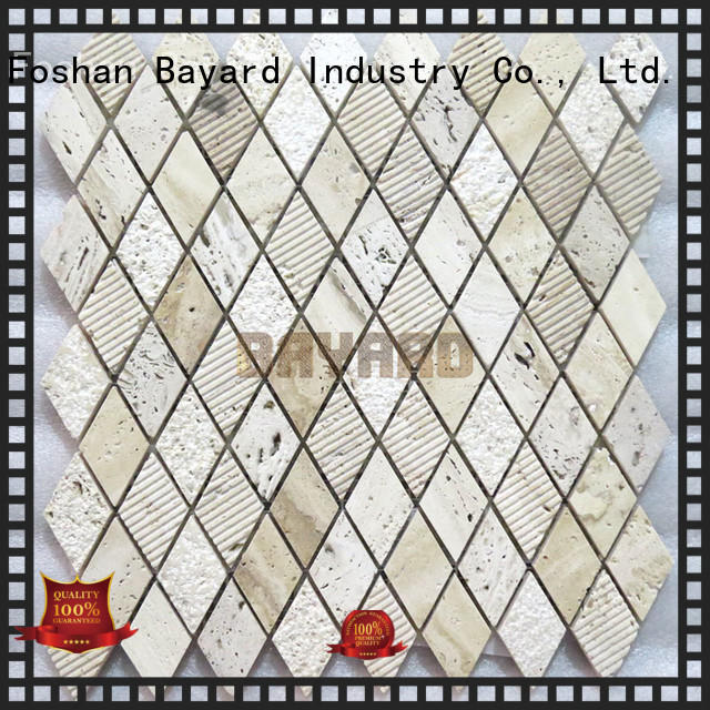 Bayard tile travertine mosaic floor tile dropshipping for bathroom