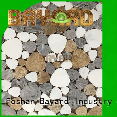 fashion design mosaic tile supplies metal for hotel lobby