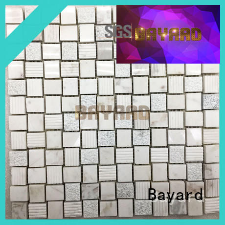 high reputation black and silver mosaic tiles stone grab now for hotel lobby