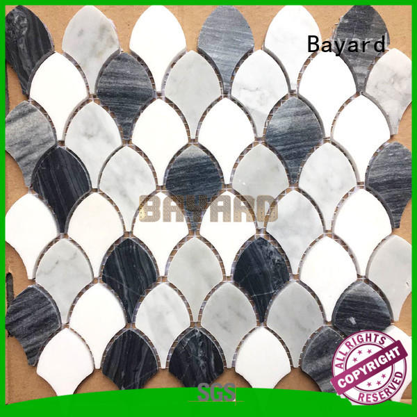 light mosaic tile supplies dropshipping for bathroom