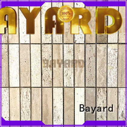 Bayard wall travertine mosaic floor tile for wholesale for hotel lobby