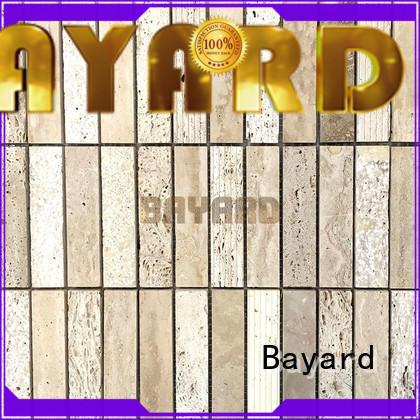 Bayard wall travertine mosaic floor tile for wholesale for hotel lobby