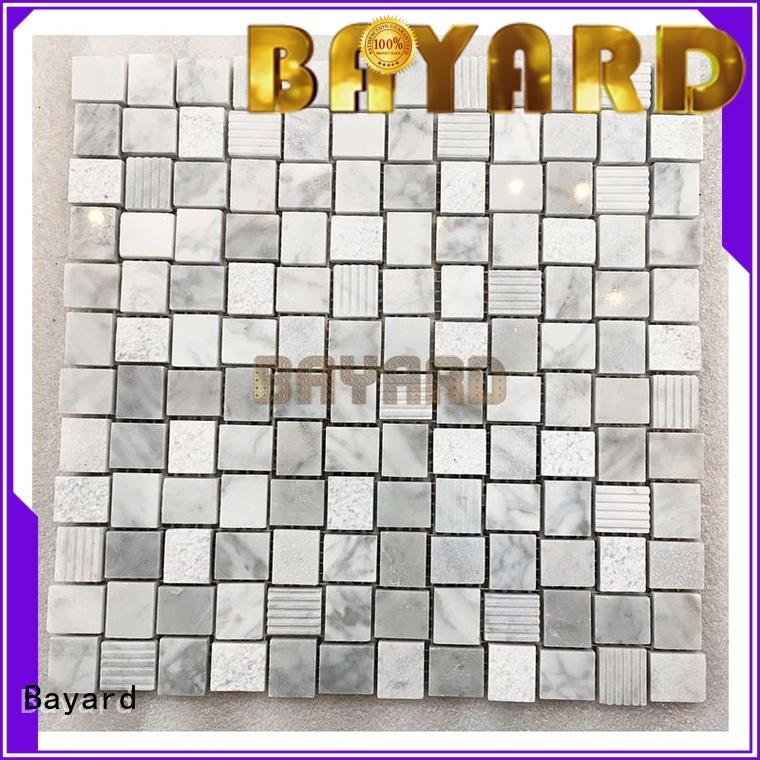 high standards grey mosaic tiles black for wholesale for supermarket