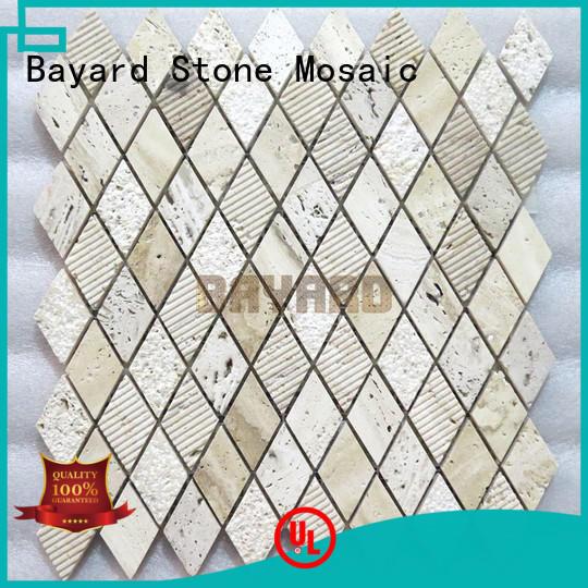 Bayard tile travertine mosaic wall tile vendor for bathroom