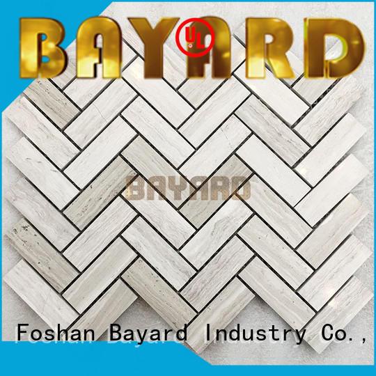 Bayard natural mosaic tile backsplash factory price for hotel