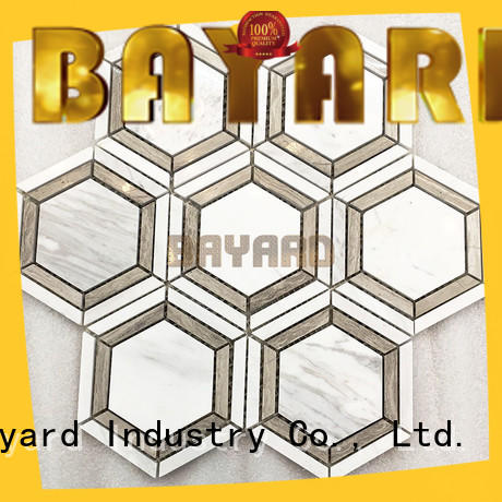 Bayard square rectangle mosaic tiles factory price for bathroom