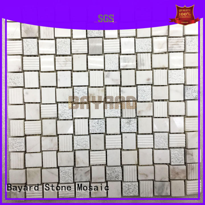 Bayard good-looking pebble mosaic tile factory price for bathroom