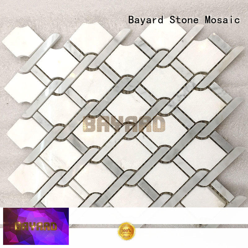 Bayard white mosaic tile supplies order now for bathroom