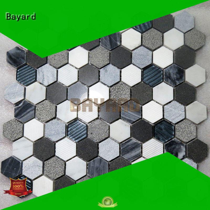 Bayard new arrival mosaic tile backsplash order now for supermarket