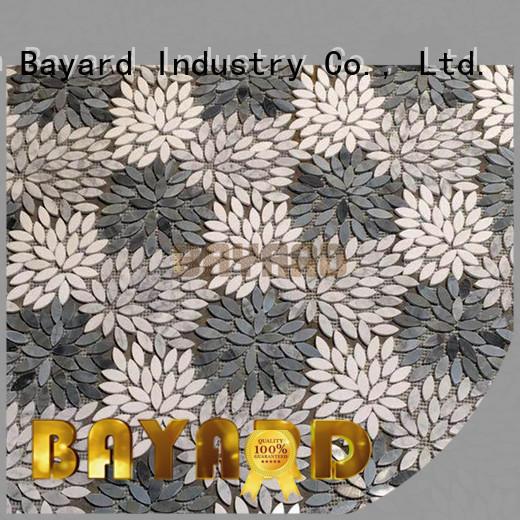 stone silver grey mosaic tiles colors Bayard