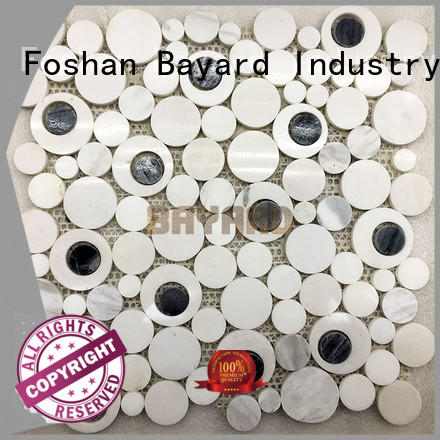 fashion design green mosaic wall tiles for wholesale Bayard
