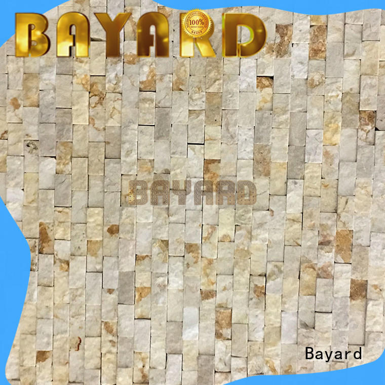 Bayard black black marble mosaic tile supplier