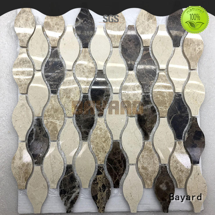 Bayard high-end marble mosaic floor tile factory price
