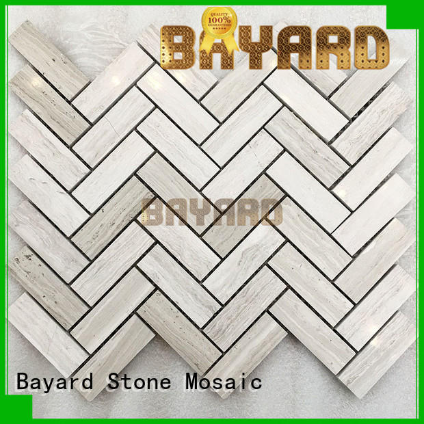 Bayard line grey mosaic tiles for decoration