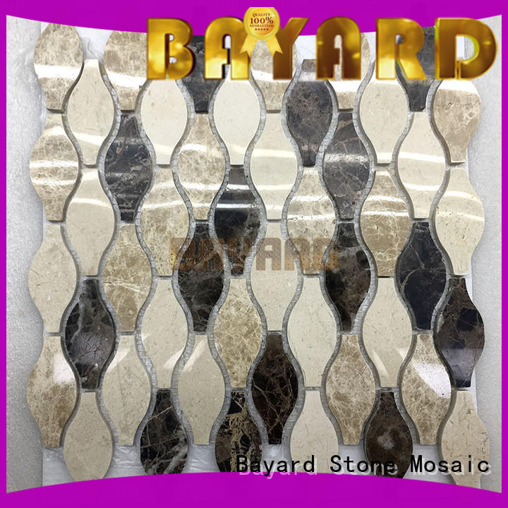 high quality gray mosaic tile umbrellatypeshelltype in china for foundation