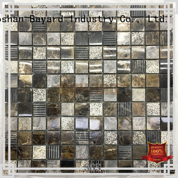 Bayard light mosaic tile patterns for hotel