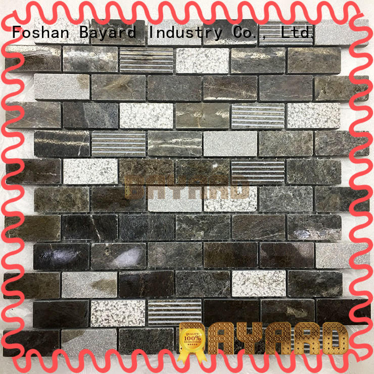 high standards natural stone mosaic wall tile newly for TV wall