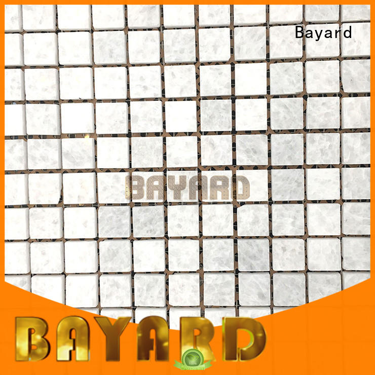 black and grey mosaic tiles square owner for bathroom