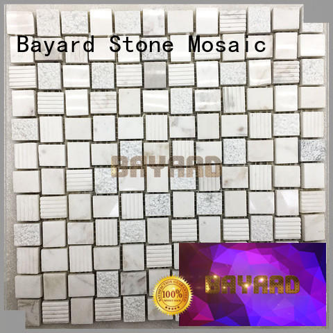 Bayard glass dark grey mosaic tiles shop now for hotel lobby