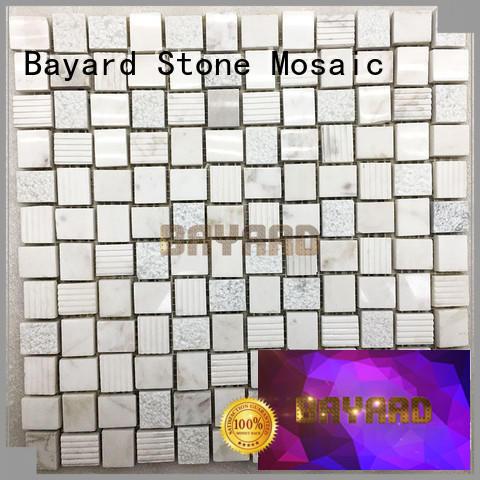 Bayard glass dark grey mosaic tiles shop now for hotel lobby