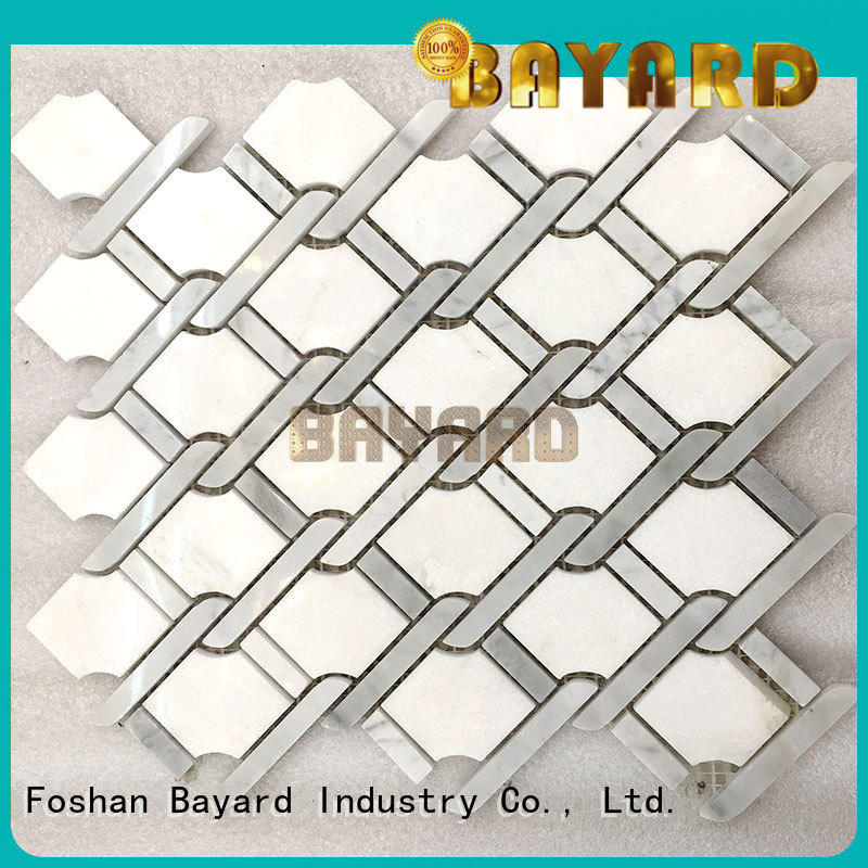 Bayard sheets mosaic kitchen floor tiles for wholesale for bathroom