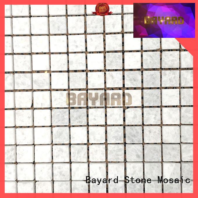 Bayard cool black and grey mosaic tiles overseas market for wall decoration