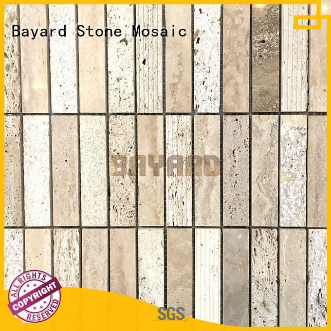 Bayard professional travertine and glass mosaic tile grab now for decoration