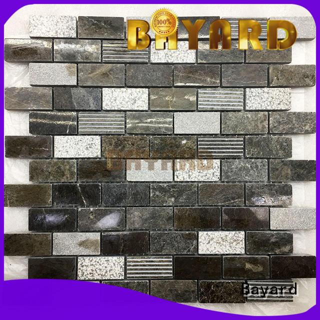 Bayard affordable marble mosaic tile vendor for hotel