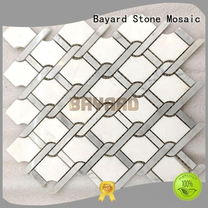 Bayard high-end mosaic tile supplies factory price for bathroom