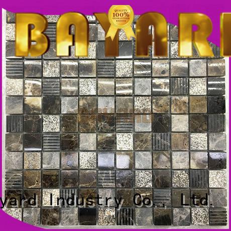natural mosaic bathroom tiles marfil supplier for bathroom