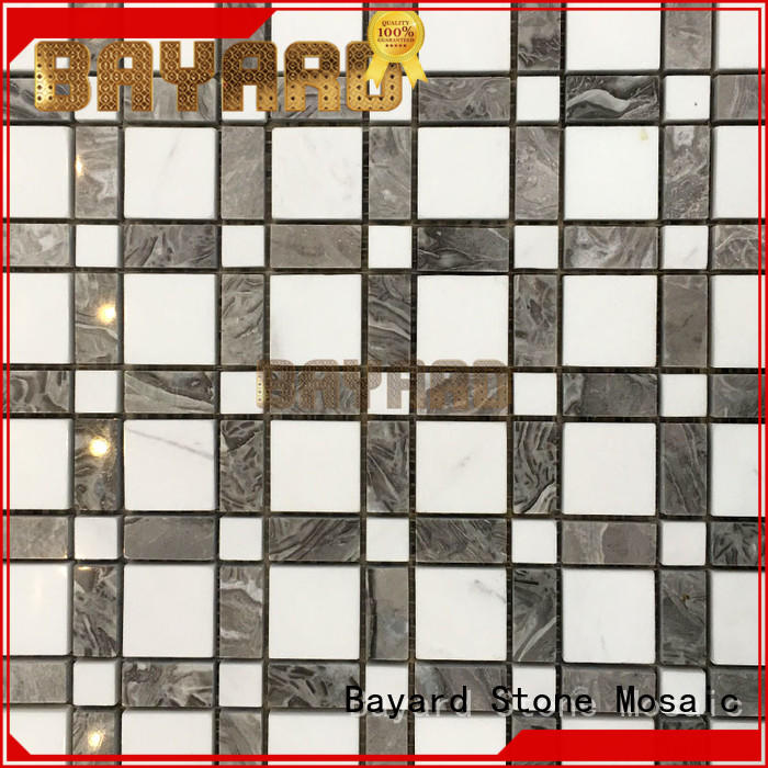 Bayard stone black and silver mosaic tiles shop now for bathroom